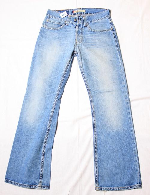 levis 512 jeans herren bootcut hose blau gr w30 l32. Black Bedroom Furniture Sets. Home Design Ideas
